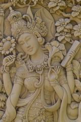 Tempelwächterin, Tempel Bali
