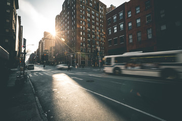 Daytime Scene in SoHo - New York