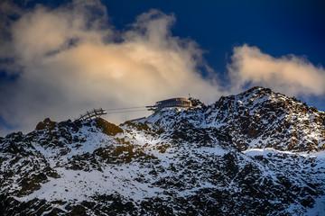 Sonnenuntergang in Oetztaler Alpen