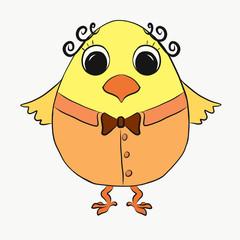 funny chick boy