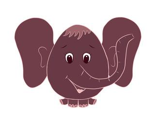 funny elephant boy