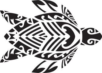 Fijian turtle design