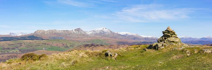 Blawith Knott panorama