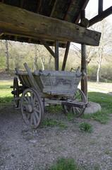 historischer erntewagen im freilichtmuseum bad-sobernheim