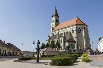Catholic church of Mór, Hungary