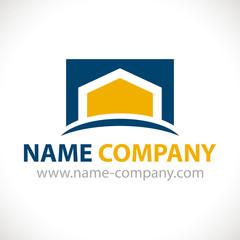 logo maison artisan construction
