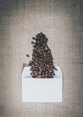 Приглашение на чашку кофе. Романтическое послание