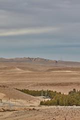 Negev desert scene