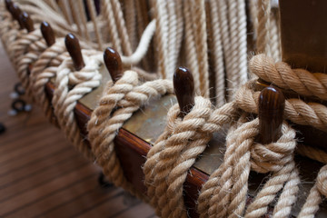 Ropes Control The Sails