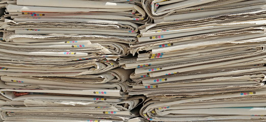 read newspapers ready for the paper production processors used
