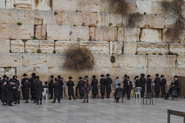 The Western Wall in Jerusalem
