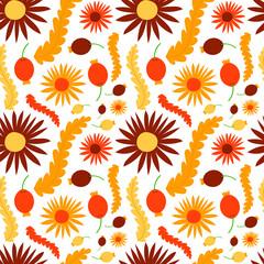 Easter seamless pattern background retro vintage design vector.