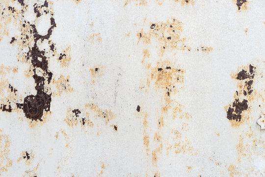grunge white steel background