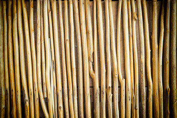 small bamboo wood texture pattern background - can use to display or montage on product