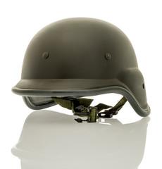 Balck military helmet