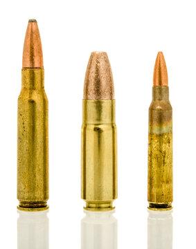 Different AR-15 calibers
