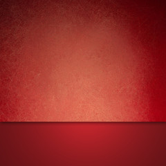 elegant red background with material design layers and vintage texture with soft yellow lighting, luxury background layout