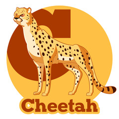 ABC Cartoon Cheetah