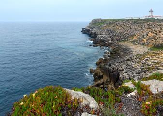 Lighthouse of Cape Carvoeiro (Peniche, Portugal).