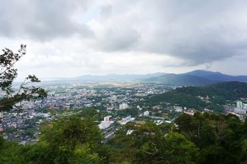 Viewpoint of Phuket city, Phuket province