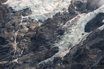 Glacier Peak close-up, Mount Cook, South Island, New Zealand