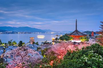 Fotomurales - Miyajima, Japan in Spring