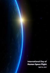 International day of Human space flight. Yuri night. First man in space.