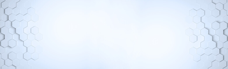 Panorama Hegaxon Muster als Hintergrund