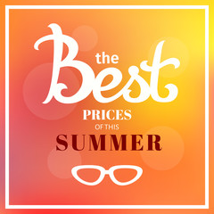best prices of summer