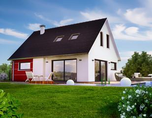 Belle maison contemporaine