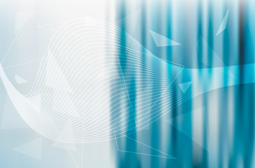 Abstract blur business background design