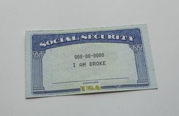 social security is broke