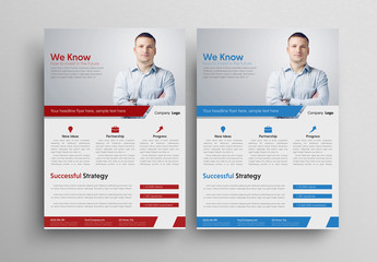 Bold Business Flyer Layout