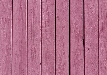 Pink color wooden fence pattern.