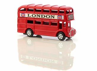 Red London Bus Toy Souvenir