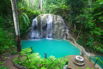 Printed roller blinds Waterfalls waterfall of island of Siquijor. Philippines