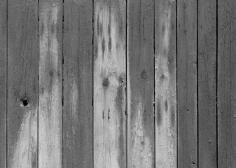 Wet gray color wooden fence pattern.