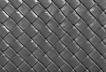 Gray color leather pattern.