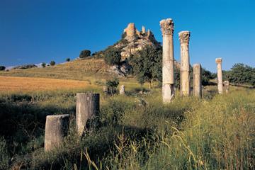 Kastabala ancient city near Osmaniye, Adana Turkey.