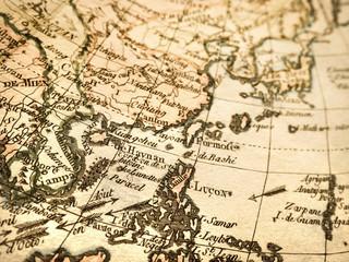 アンティークの世界地図 フィリピン