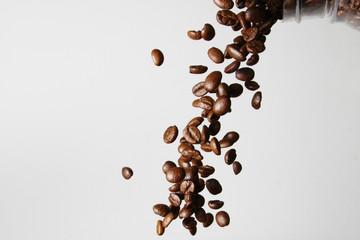 coffee beans as wallpaper