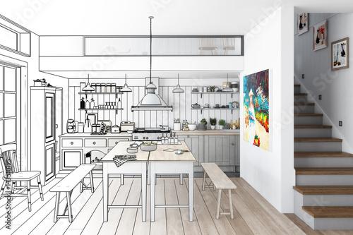 k che aus alt mach neu zeichnung stockfotos und lizenzfreie bilder auf bild. Black Bedroom Furniture Sets. Home Design Ideas