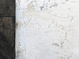 Texture. Old canvas. Flaking paint.