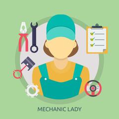 Mechanic Lady Conceptual Design
