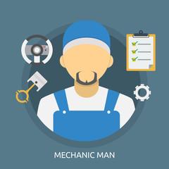 Mechanic Man Conceptual Design