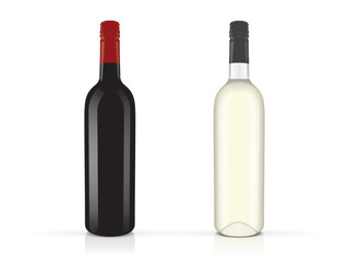wine for your design and logo Mock Up Vector EPS10