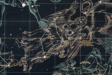 znaki zoodiaku-panna- mapa nieba