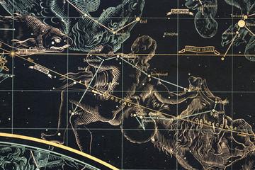 znaki zoodiaku-wodnik- mapa nieba