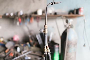 Gas welding tool
