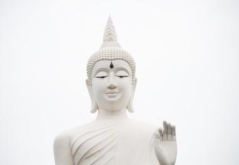 Buddha statue in pubicpark Thailand.